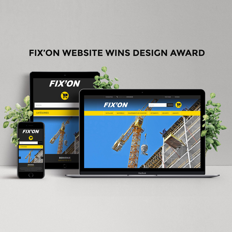 fixon-website-wins-design-award-square
