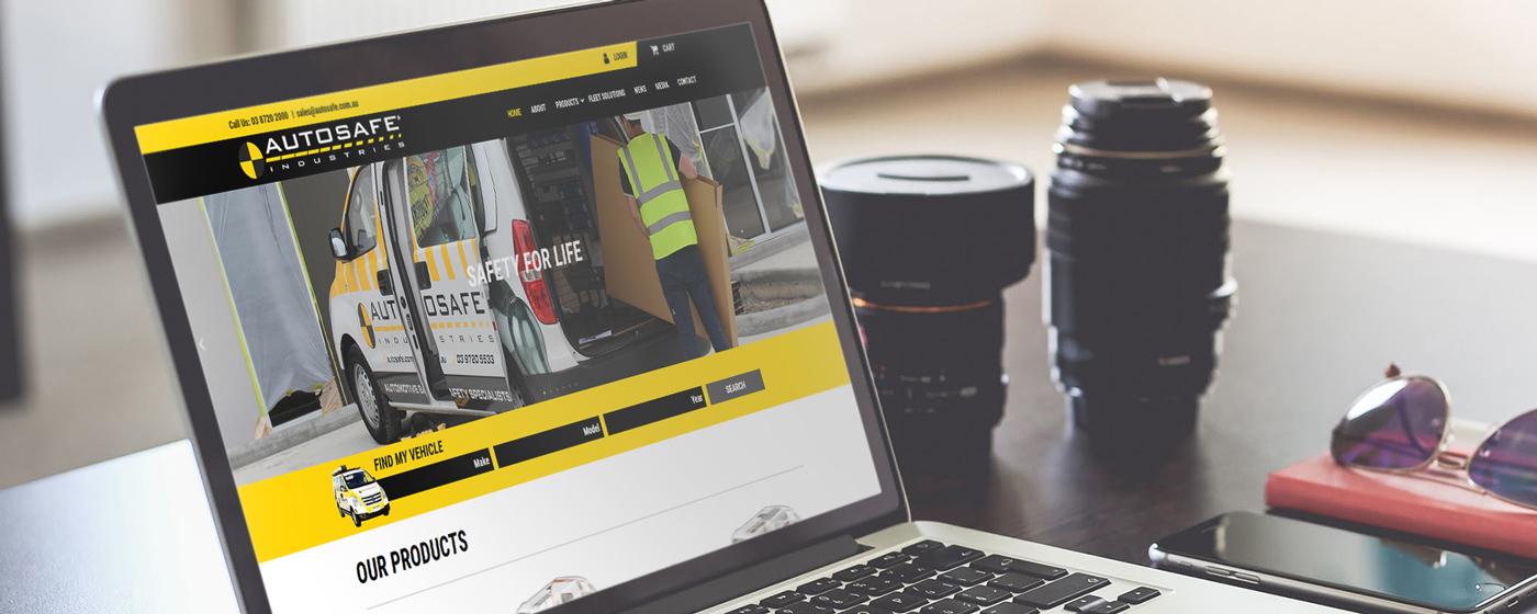 B2B Website Design and Development - Autosafe